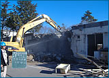 旧あけぼの医療福祉センター施設解体工事 2工区